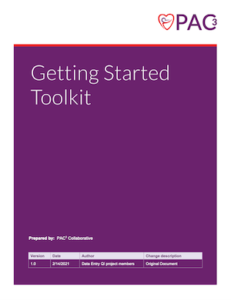 Getting Started Toolkit